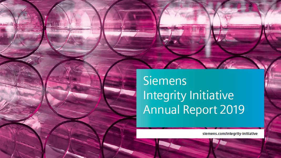 Siemens Integrity Initiative – Annual Report 2019