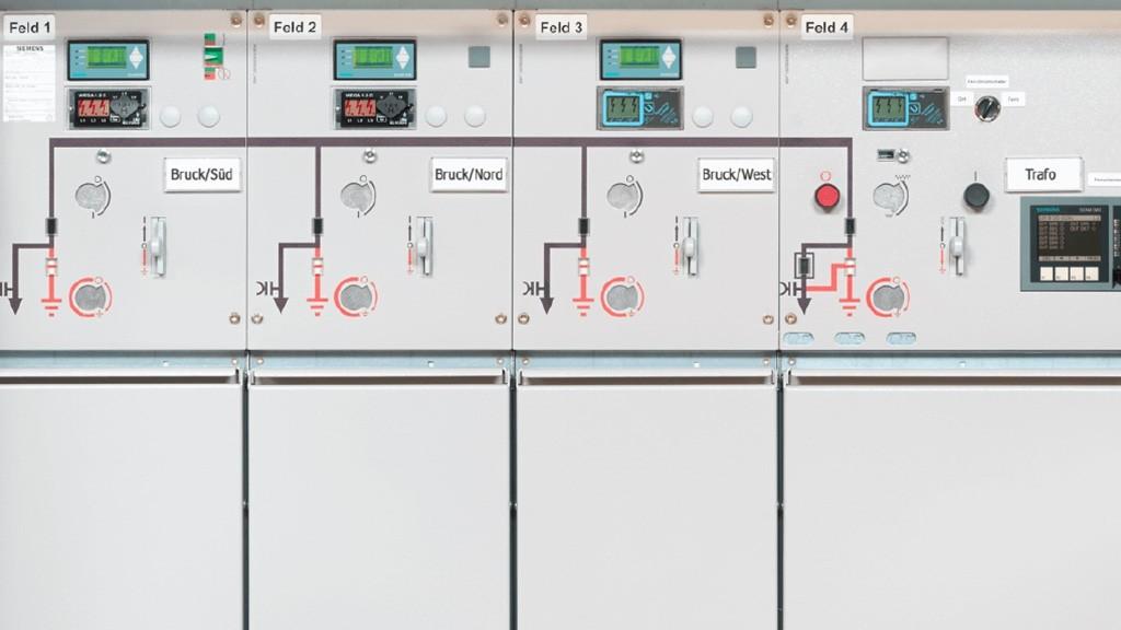 Intelligente Ortsnetzstation