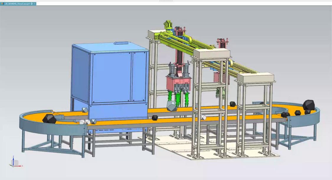 在智能选矸机的研发过程中,西门子虚拟调试技术可以帮助工程师们确定精确的选矸率,进而节约设备研发成本,缩短现场调试时间。