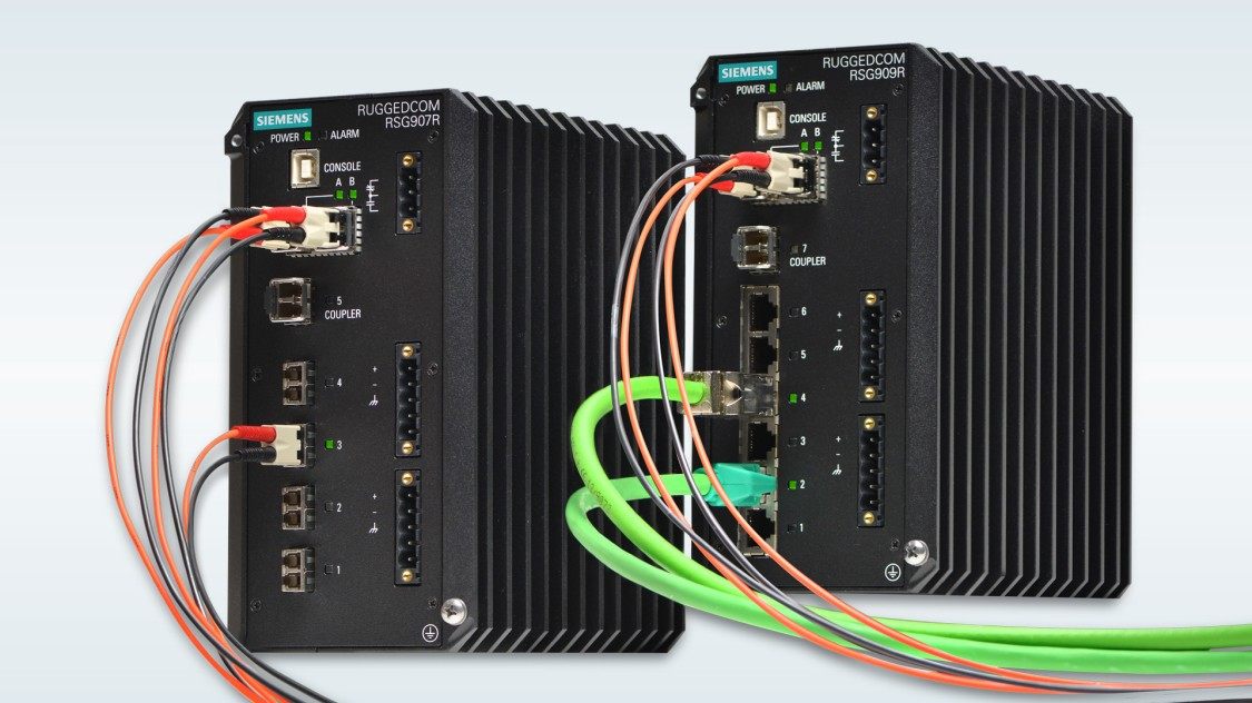 RUGGEDCOM layer 2 compact switches