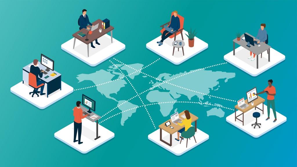 Remote working - worldwide
