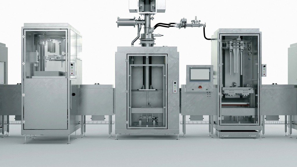 For every size - Engineers use Siemens technology to create filling plant for different package sizes