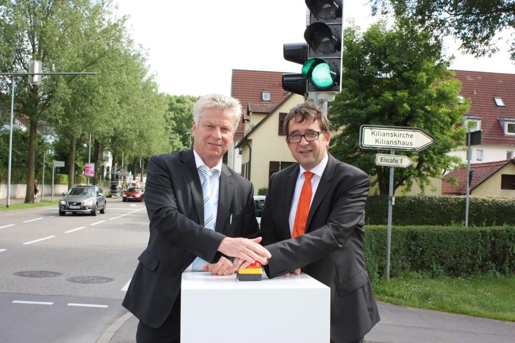 Stefan Eckert und Jürgen Kesing