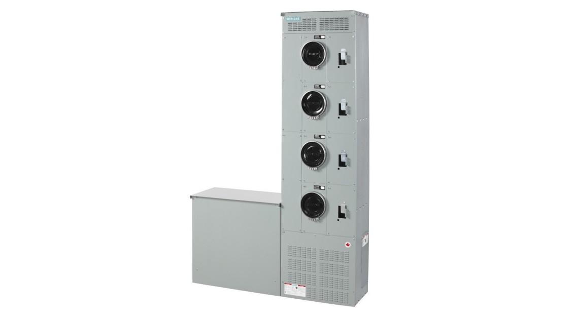 Centre de compteurs modulaires de 600 V