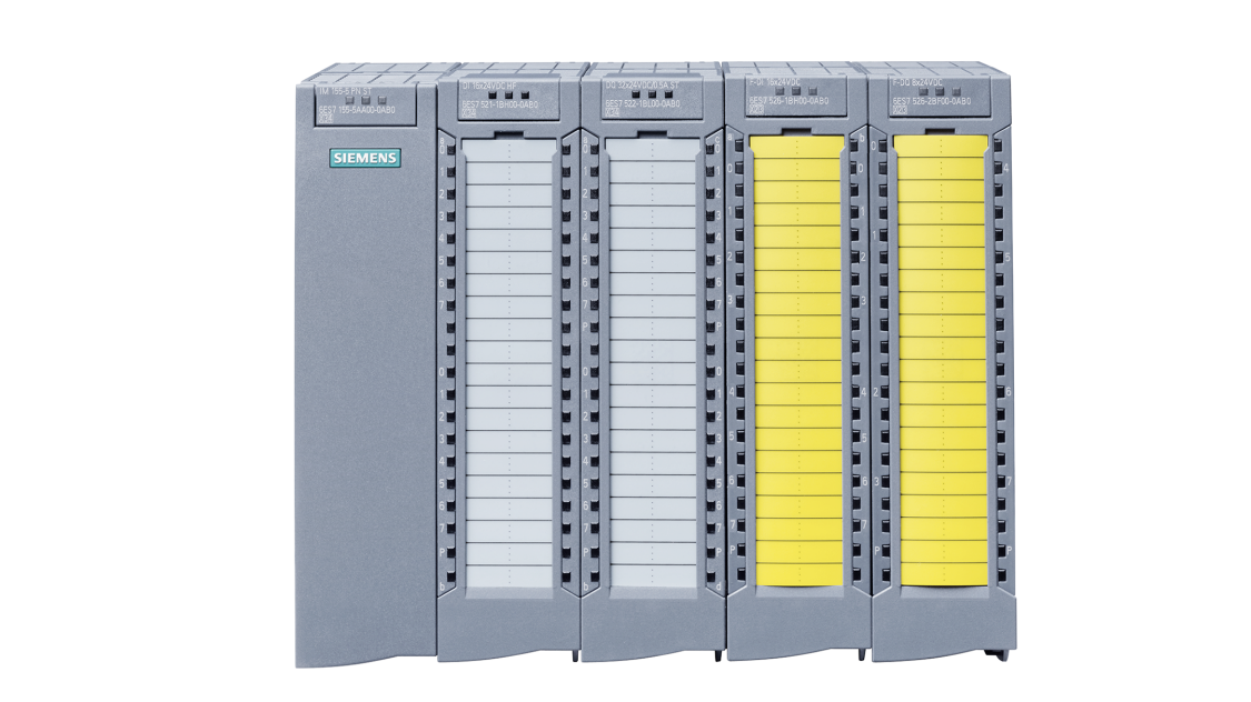 SIMATIC ET 200MP station with failsafe modules