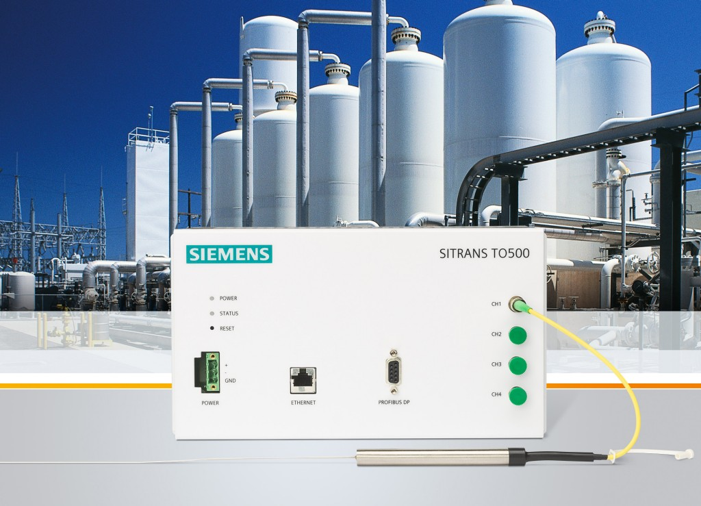 Temperature measuring system lengthens the service lives of plants and improves product quality