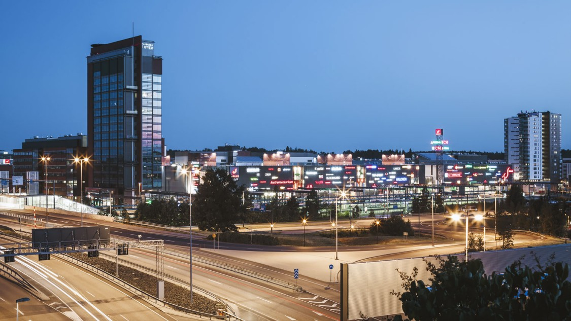 Sello shopping center in Espoo, Finland