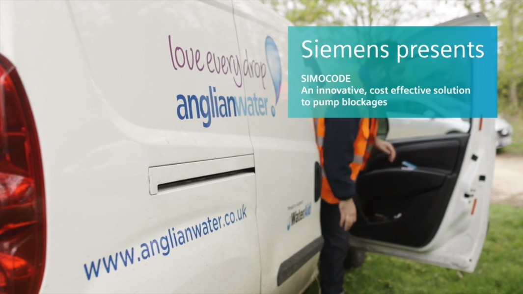 Anglian water engineer's van
