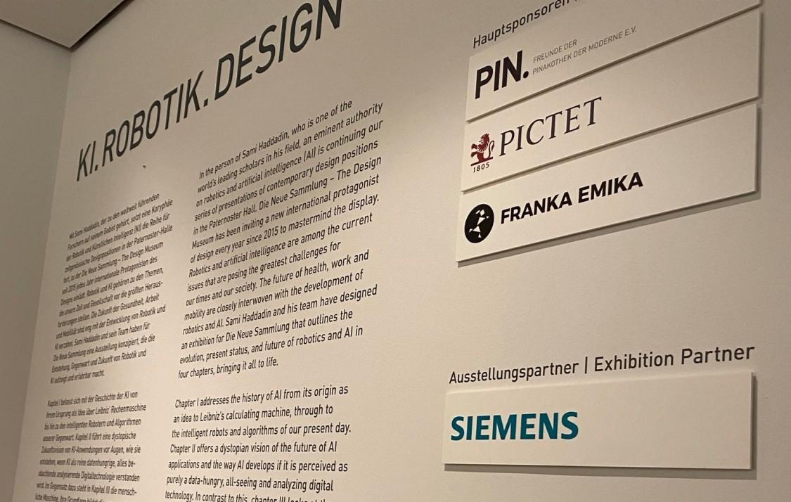 """Siemens unterstützt """"KI.ROBOTIK.DESIGN"""" als Ausstellungspartner"""