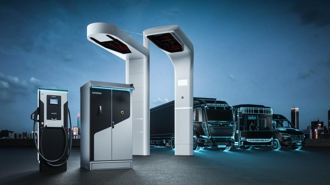 charging stations for heavy-duty EV fleet icon
