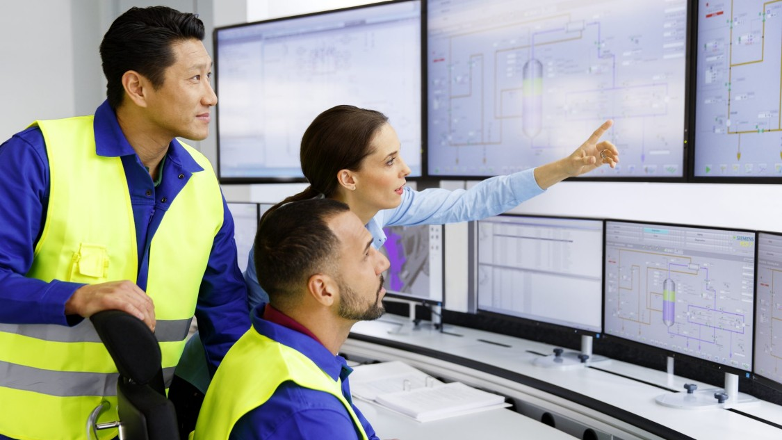 简化复杂工厂的控制和监视
