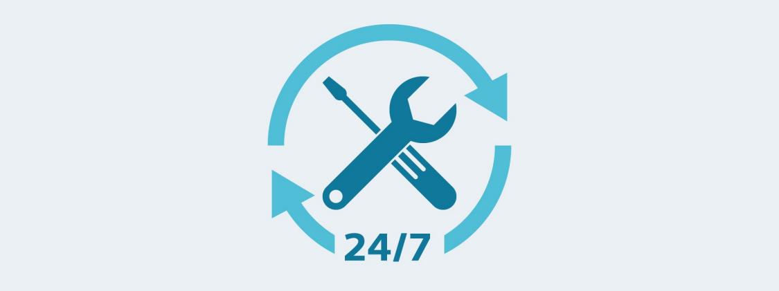 Service 24/7 icon