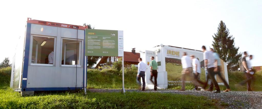 Erfolgreicher Inselnetzversuch in Wildpoldsried