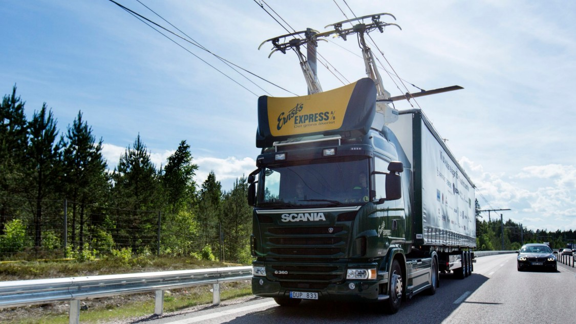 eHighway in Schweden