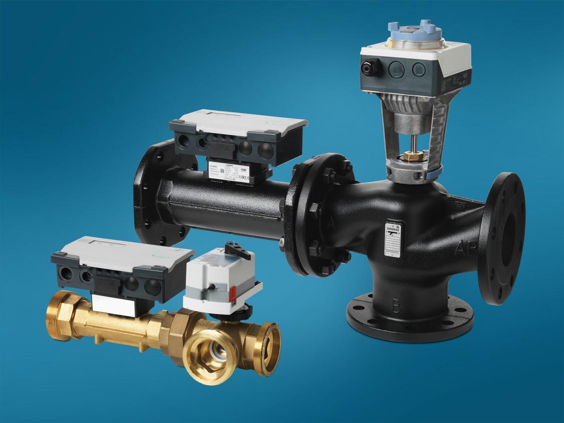 A Siemens intelligens szelepe maximalizálja a fűtési és légtechnikai rendszerek hatékonyságát