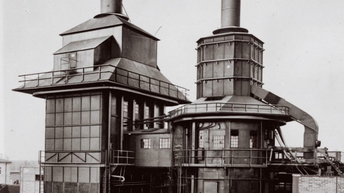 "Котел Бенсона на кабельному заводі ""Гартенфельд"", 1927 рік"