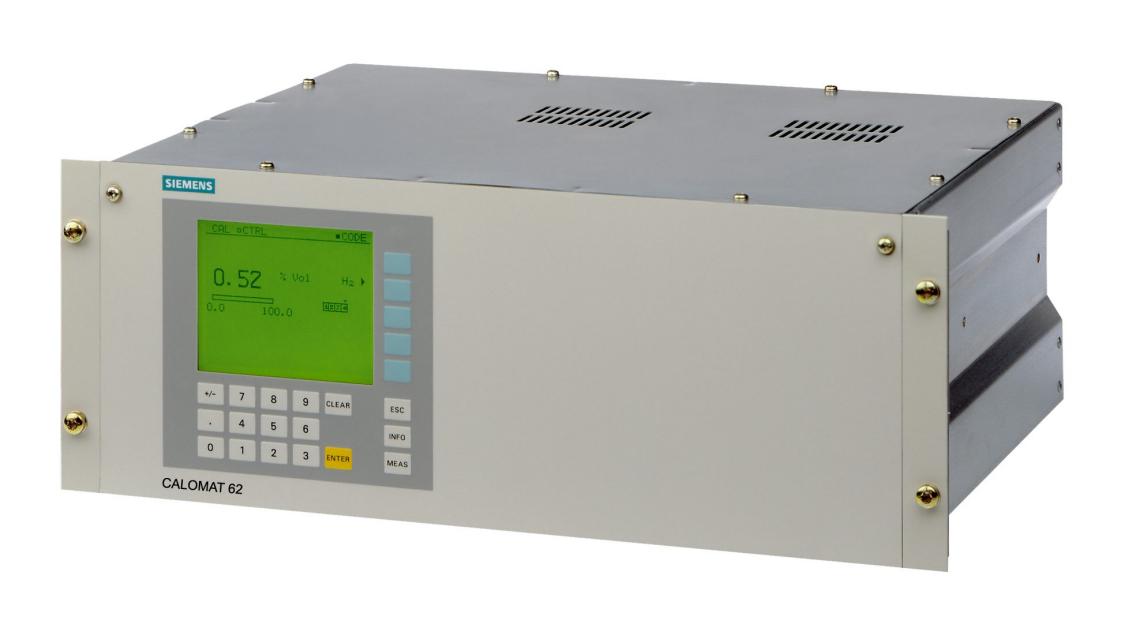 USA   Gas analyzer CALOMAT 6