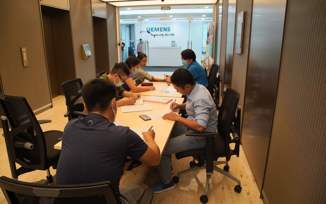 Blood Donation Activity of Siemens Vietnam