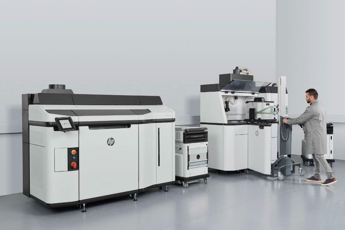 Die neue 3D-Druck-Lösung HP Multi Jet Fusion 5200 ist für den Druck höherer Stückzahlen konzipiert (Copyright: HP)