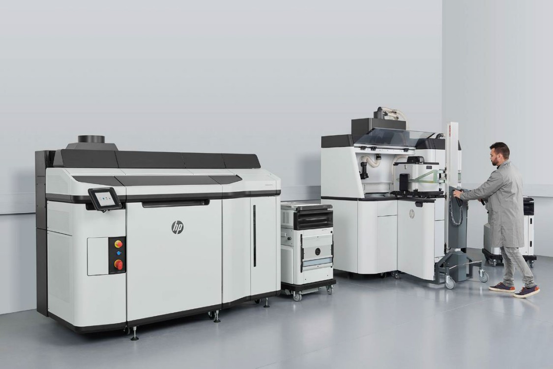 The new HP Multi Jet Fusion 5200 3D solution is optimized for high-vol production (Copyright: HP)