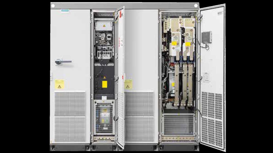 SINAMICS S150 NEMA enclosed high performance drives
