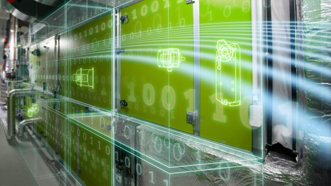 Climatix-regelunits, Siemens-afsluiteraandrijvingen en luchtklepservomotoren en sensoren bieden OEM's oplossingen die in een netwerk zijn geïntegreerd.