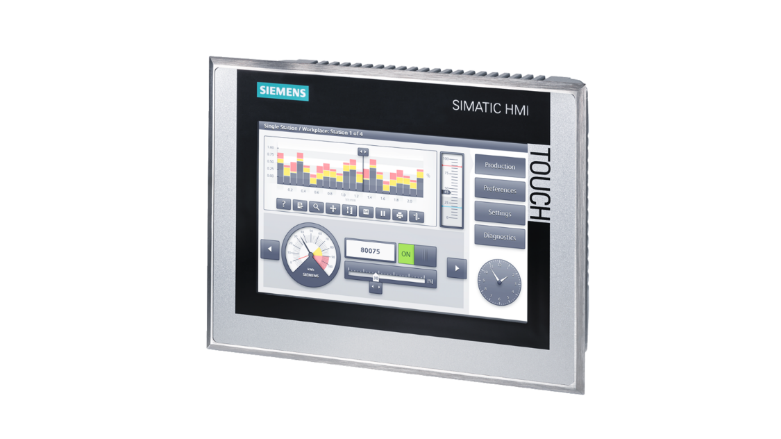 SIMATIC HMI Comfort panels   Machine level HMI   Siemens