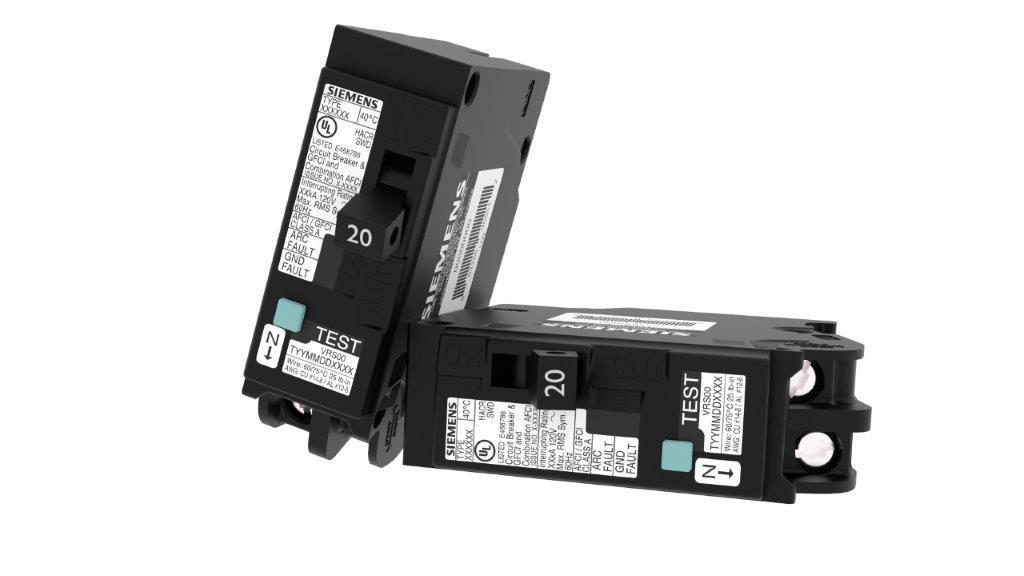 QFGA2 Circuit Breaker & Combination Type AFCI and GFCI