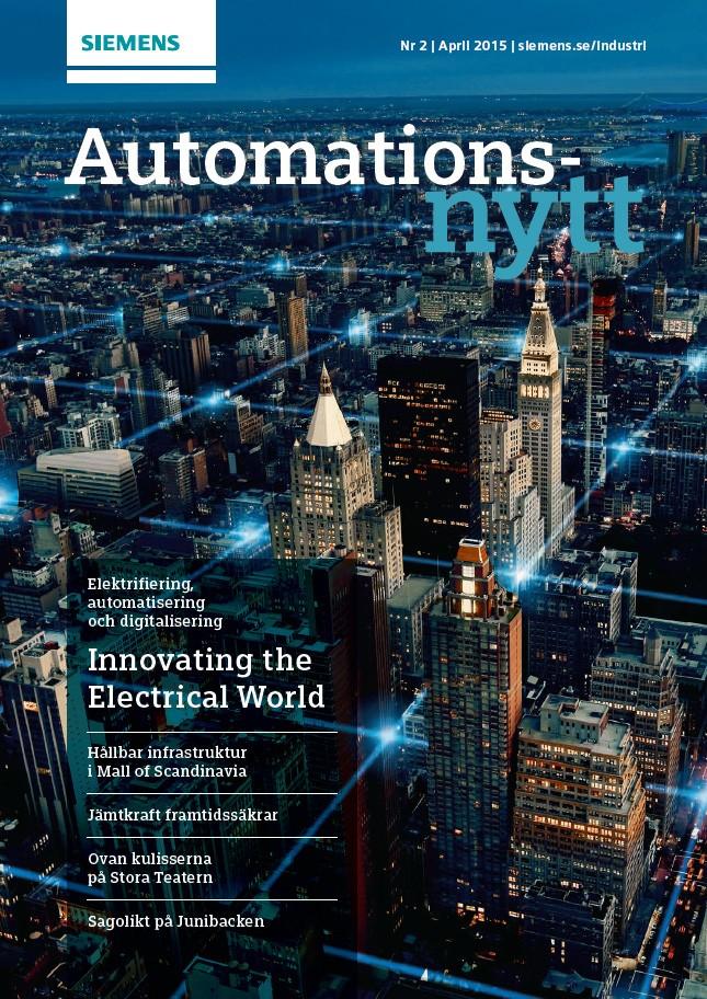 Automationsnytt Nr 2 | April 2015