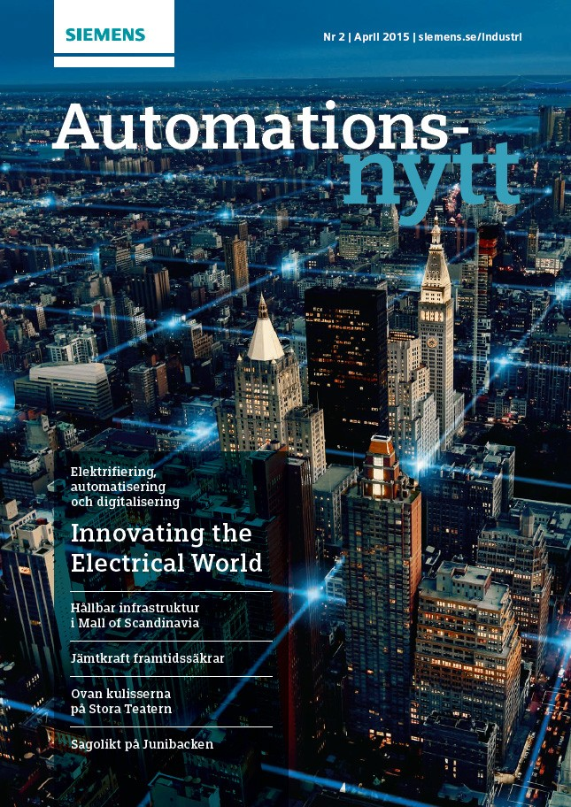 Automationsnytt Nr 2 | April 2015