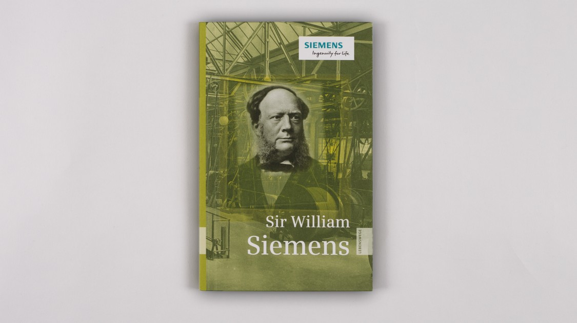 Lebenswege Band 8: Sir William Siemens cover