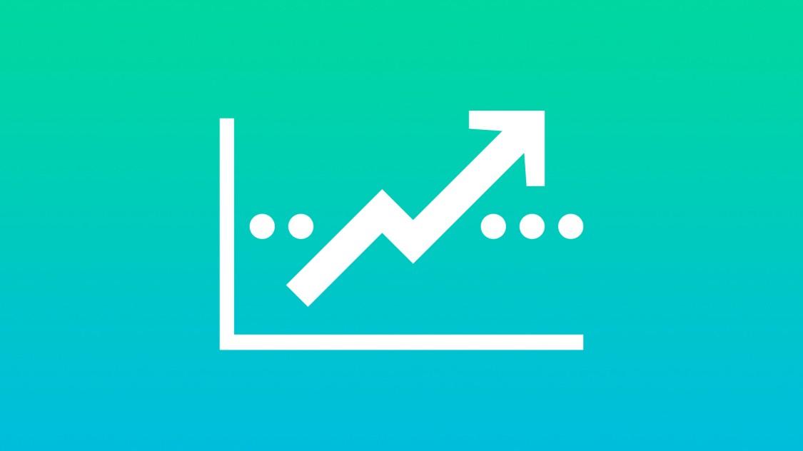 Icon for economic efficiency.