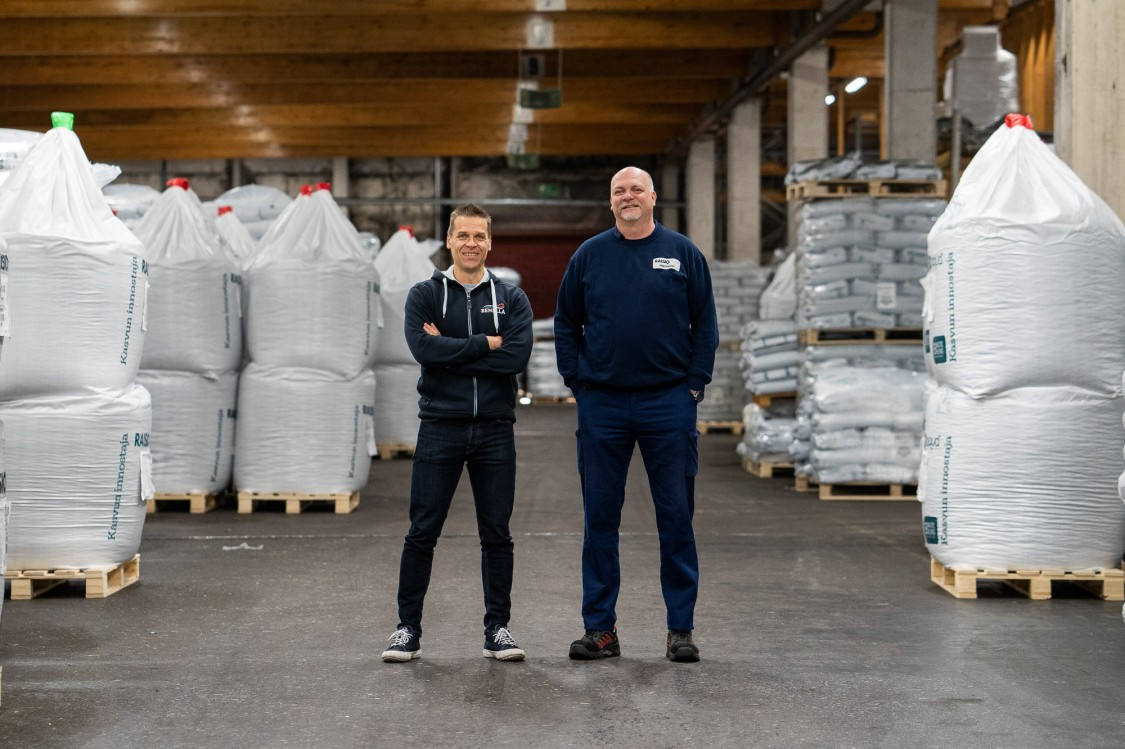 Raisioaqua, Tomi Kantola ja Petri Elonen