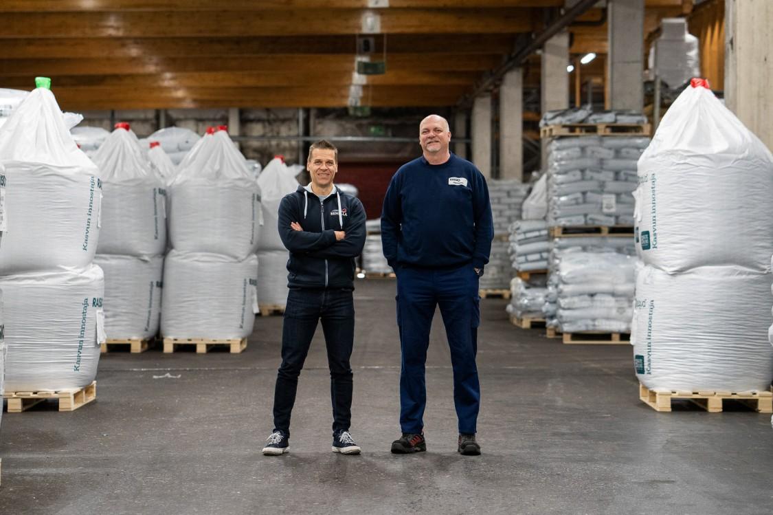 Tomi Kantola ja Petri Elonen