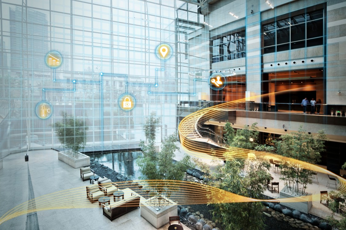 Smart hotels of the future