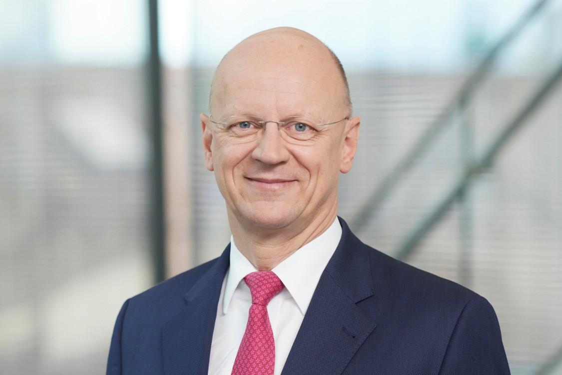 Dr. Ralf P. Thomas, Finanzvorstand der Siemens AG, Mitglied des Vorstands der Siemens AG