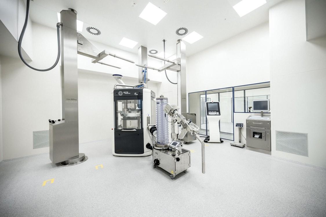 Laboratoire allergan équipe par la solution smart lab