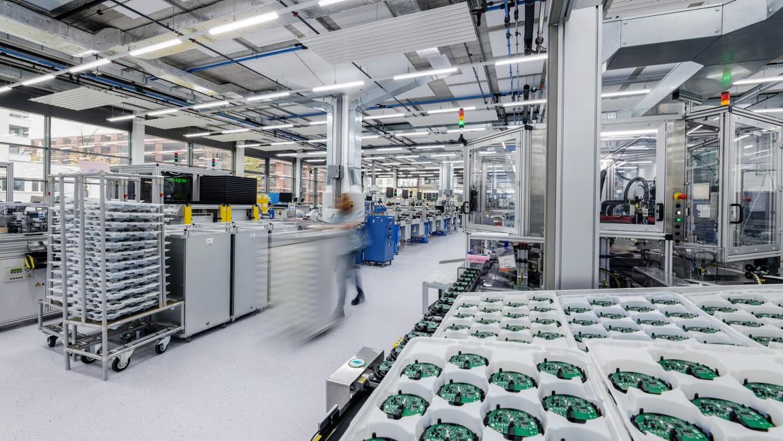 Siemens Campus Zug Production Facility 3