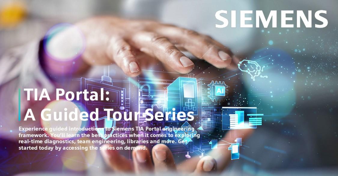 TIA Portal: A Guided Tour Series