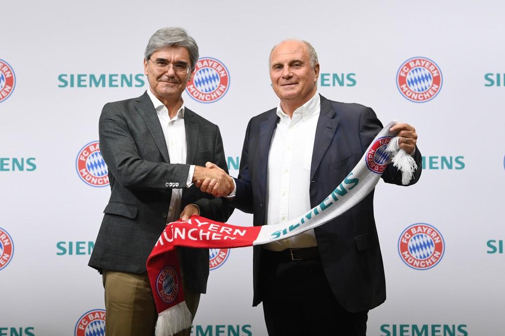 Stolzer Partner des FC Bayern München
