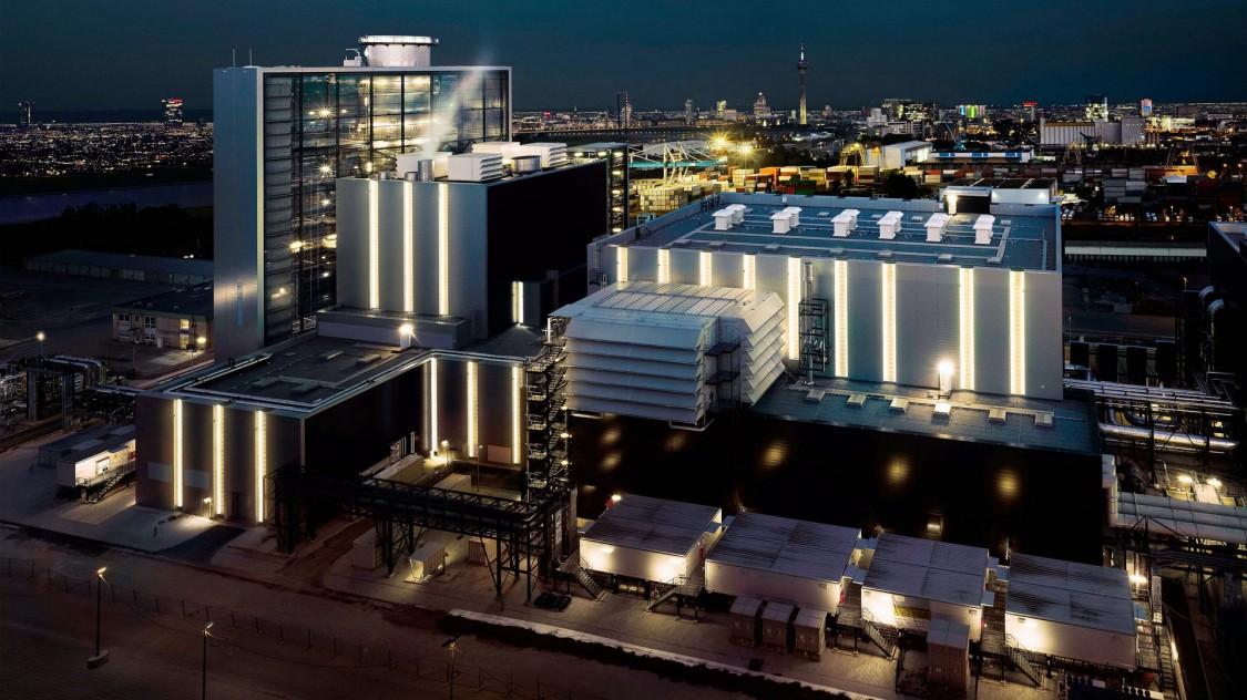 Электростанция комбинированного цикла «Лаусвард», 2016 год