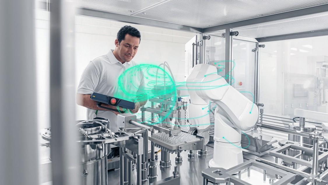 Roboterintegration mit SIMATIC Robot Integrator App in der Produktion