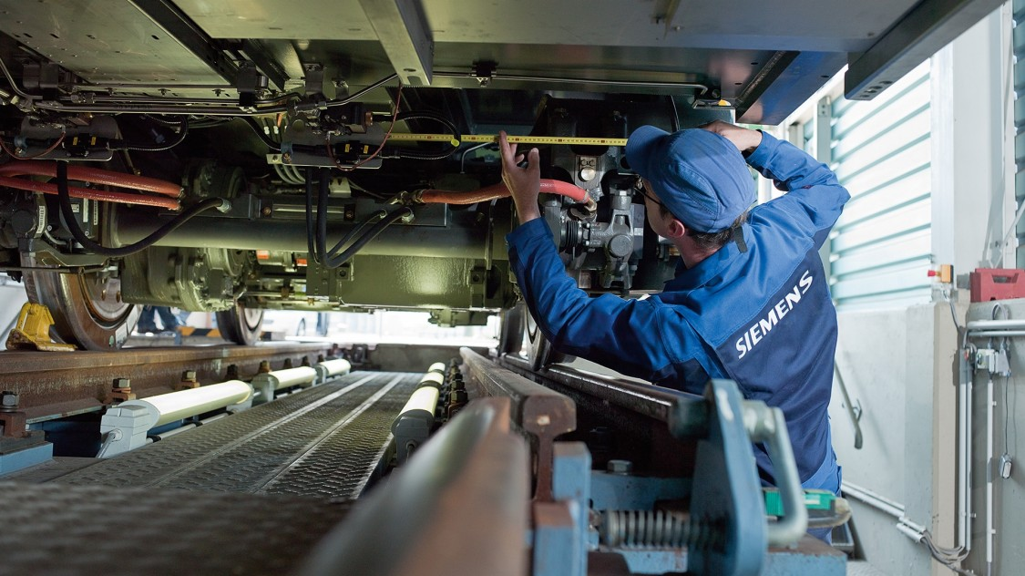Siemens Mobility Upgrade Service