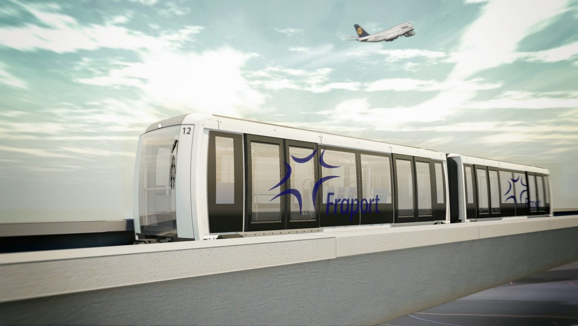 Arival Fully Automated People Mover for Frankfurt Airport