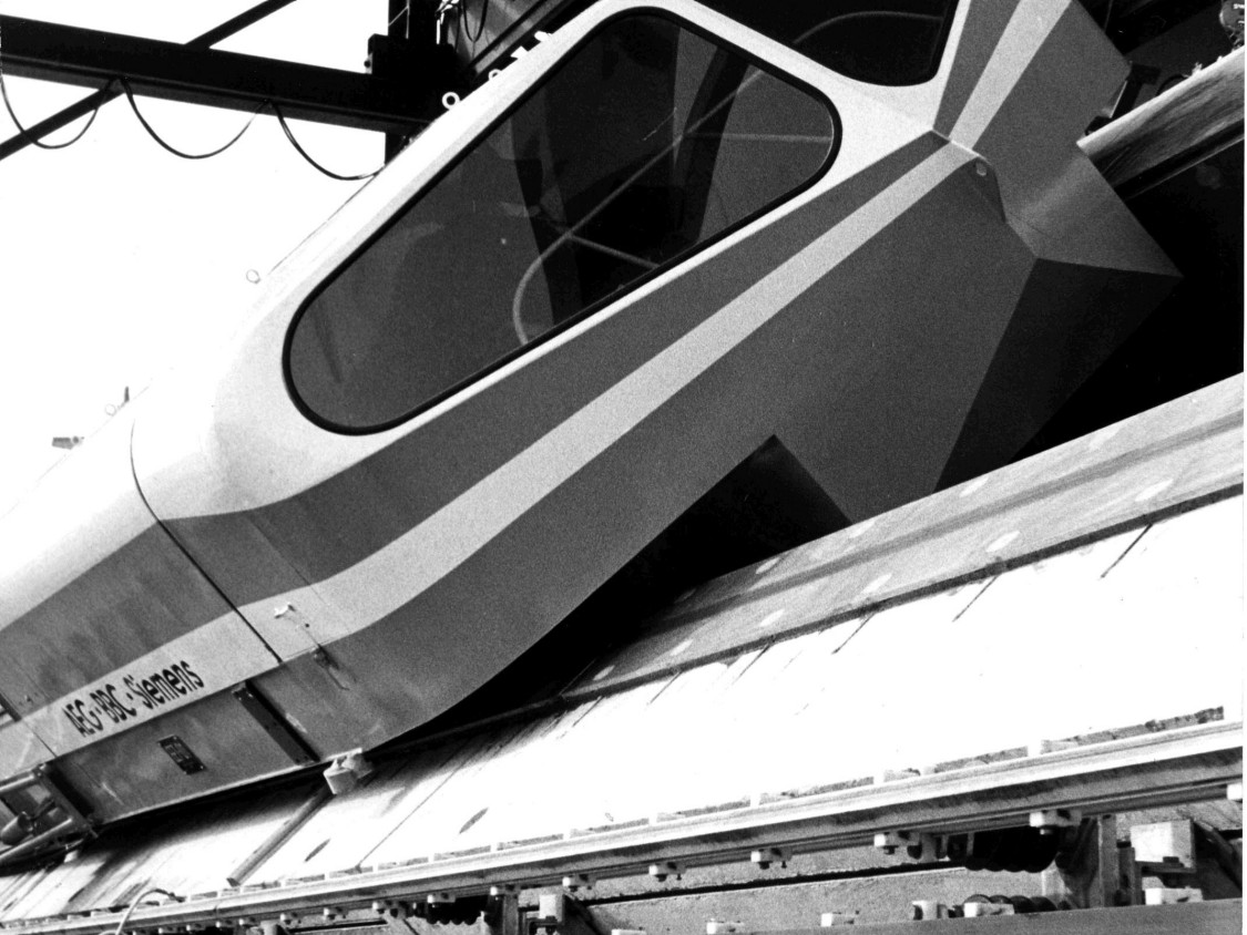 Testing the maglev train