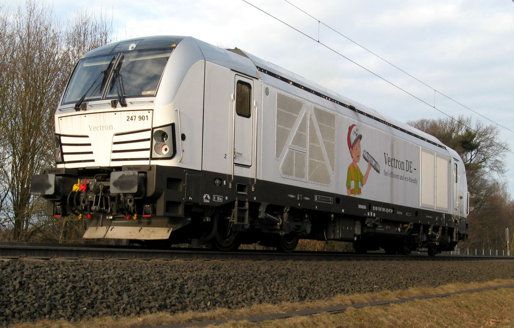 Vectron DE receives authorization for Germany and TSI certificate