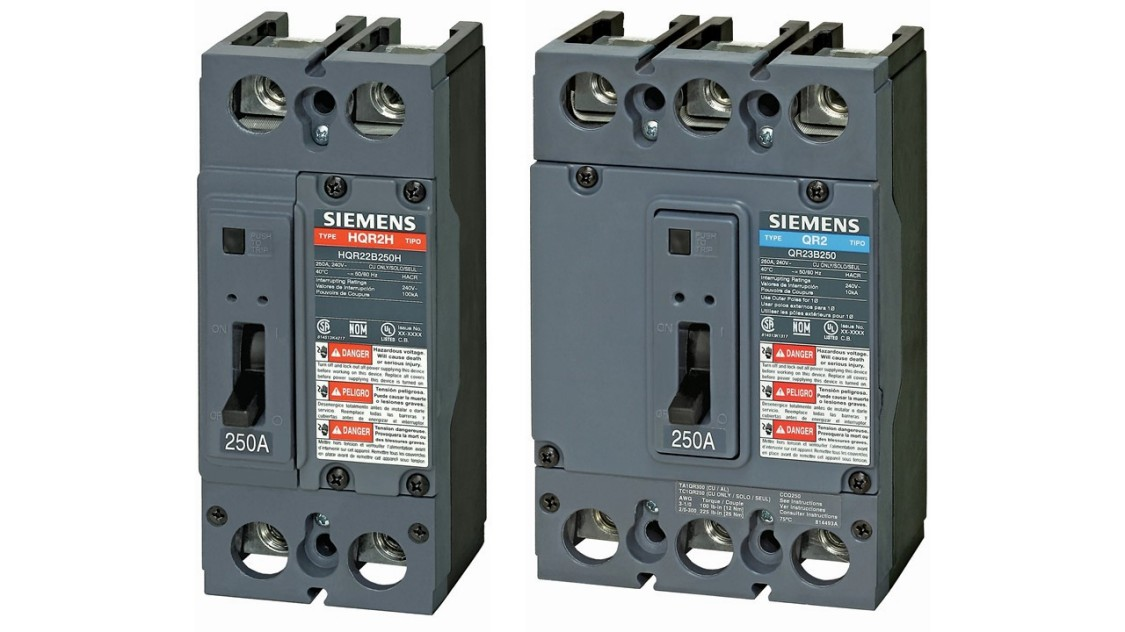 QR2 Molded Case Circuit Breakers