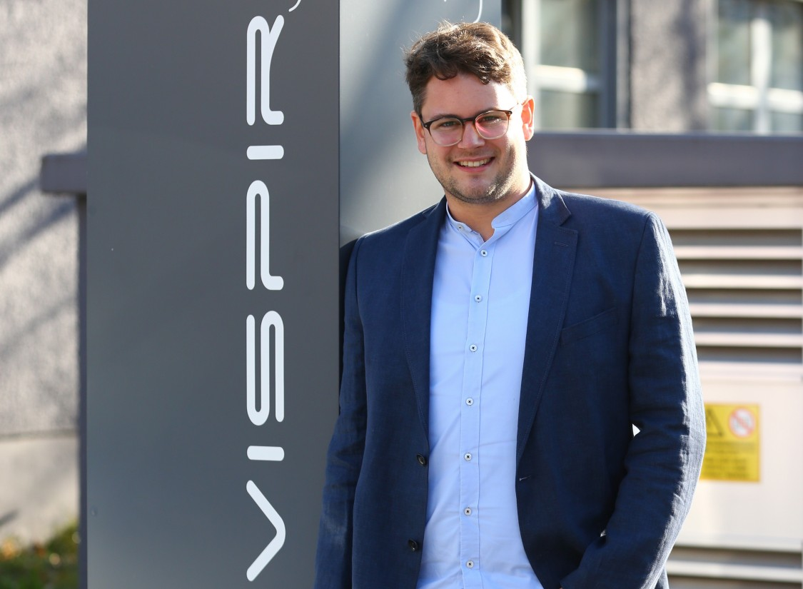 Lukas Failer, CTO, Vispiron CHARGE-V GmbH
