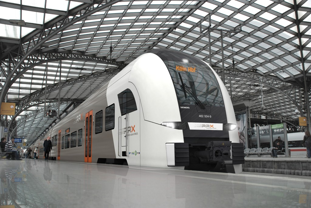 In the picture: The Desiro HC at Cologne, Germany, Central Station.