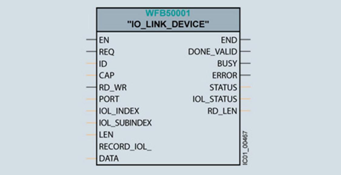 IO-Link 功能块